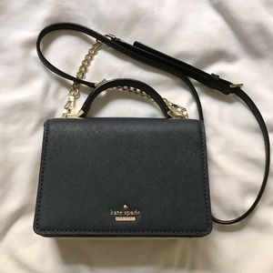 KATE SPADE Tri Color Saffiano Leather Mini Crossbo
